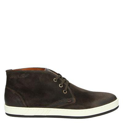 Van Lier heren sneakers bruin