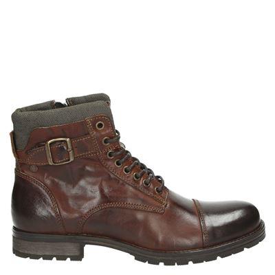 Jack & Jones heren boots cognac