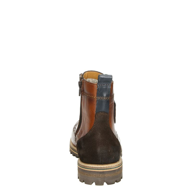 Pantofola d'Oro Ponzano Uomo Hi - Veterboots - Cognac