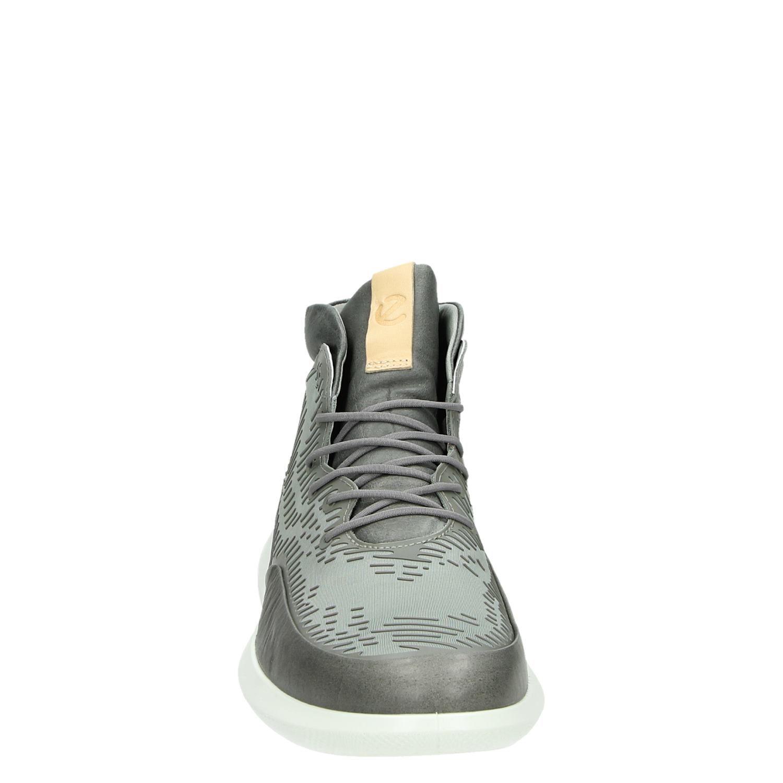Ecco Chaussures De Sport De Haute Gris kM0e7F