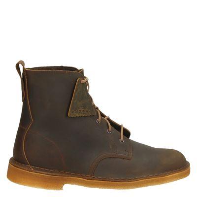 Clarks Originals heren boots cognac