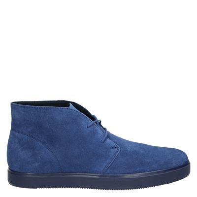 Clarks heren veterschoenen blauw