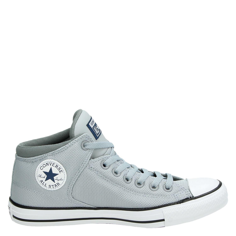 0e77ad4df15 Converse heren hoge sneakers grijs