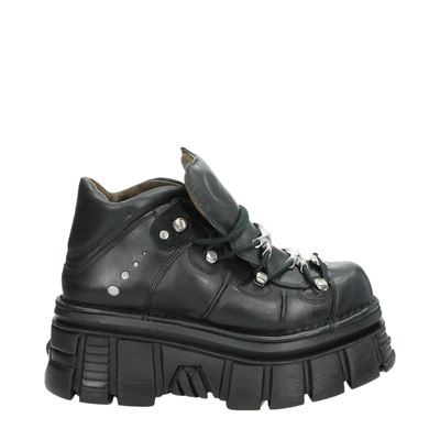 New Rock heren sneakers zwart