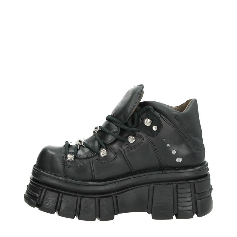 New Rock Tower Black - Boots - Zwart
