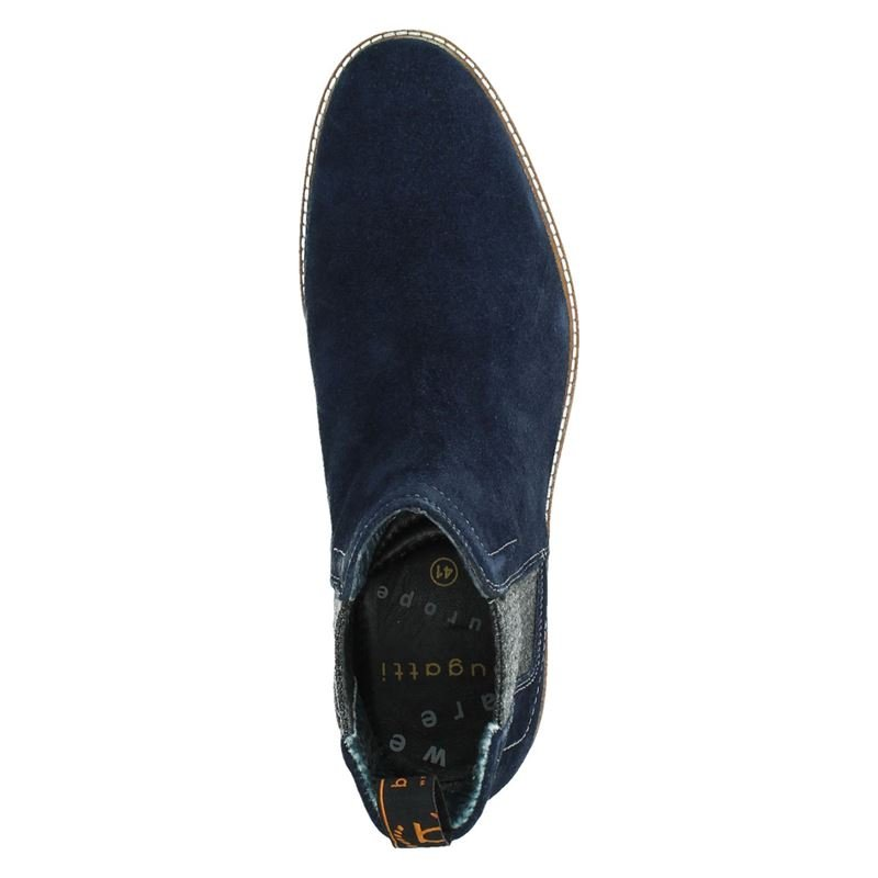 Bugatti - Chelseaboots - Blauw