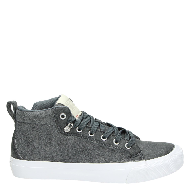 20b20ce1d1a Converse All star heren lage sneakers grijs
