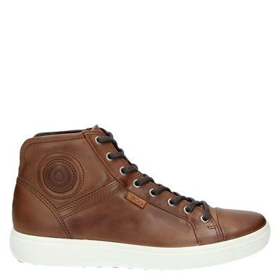 Ecco heren sneakers cognac