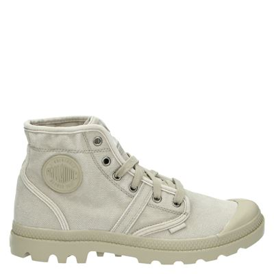Palladium heren veterschoenen beige
