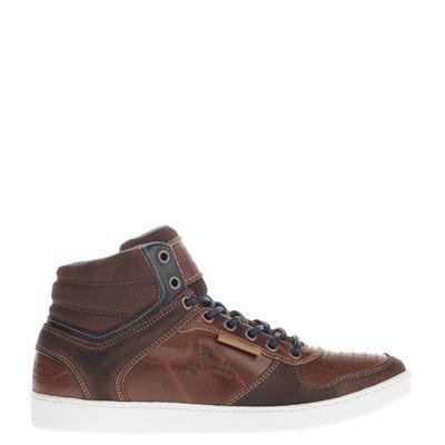 Nelson heren sneakers cognac