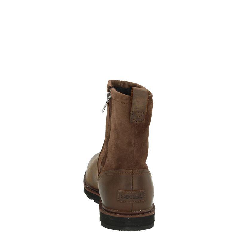 Sorel Madson Zip - Rits- & gesloten boots - Bruin