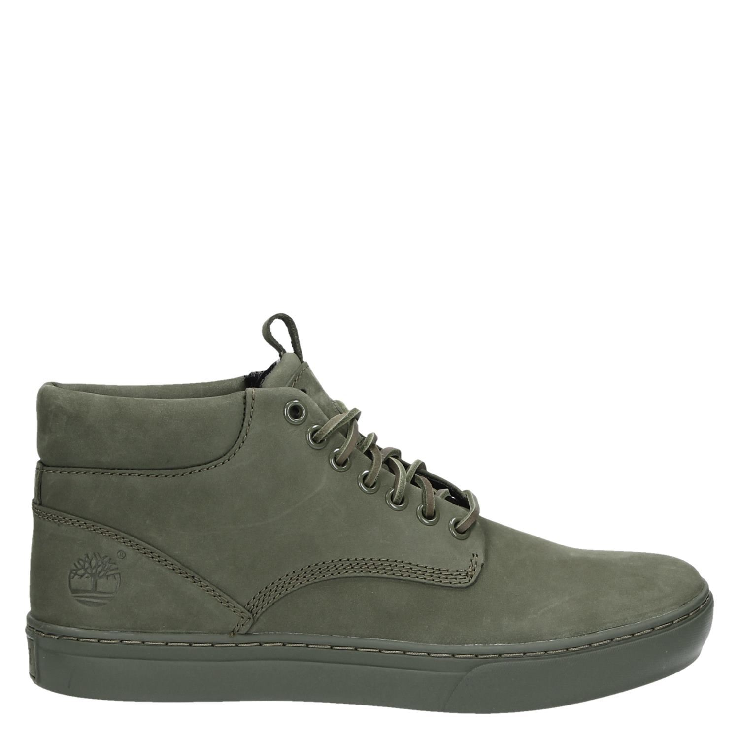 Chaussures Timberland Vert Pour Les Hommes SNWLy89mcA