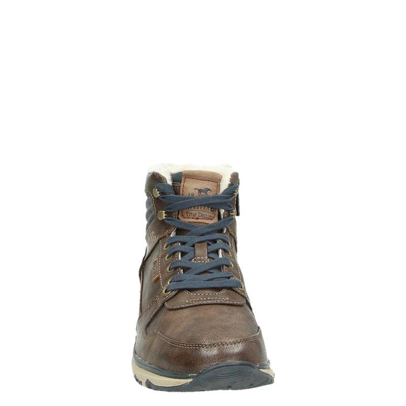 Mustang - Hoge sneakers - Bruin