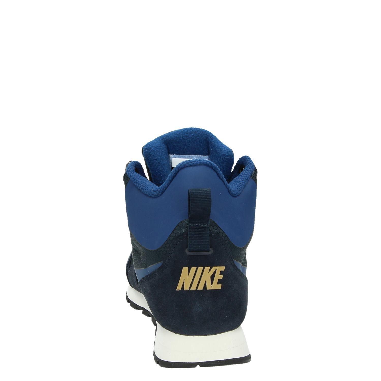 195dc2f9a29 Nike MD Runner 2 heren hoge sneakers blauw