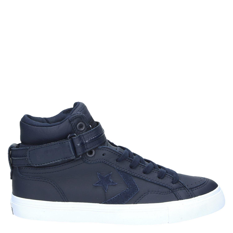 Chaussures Blaze Converse Bleu Avec Des Hommes De Fermeture Velcro lYI2sHECf