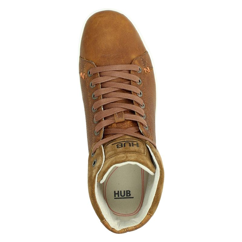 Hub Murrayfield - Hoge sneakers - Cognac