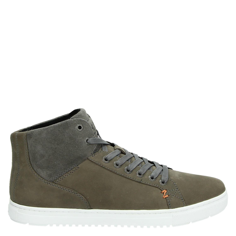 Moyeu Hautes Chaussures De Sport Gris Gjw2xJBKu
