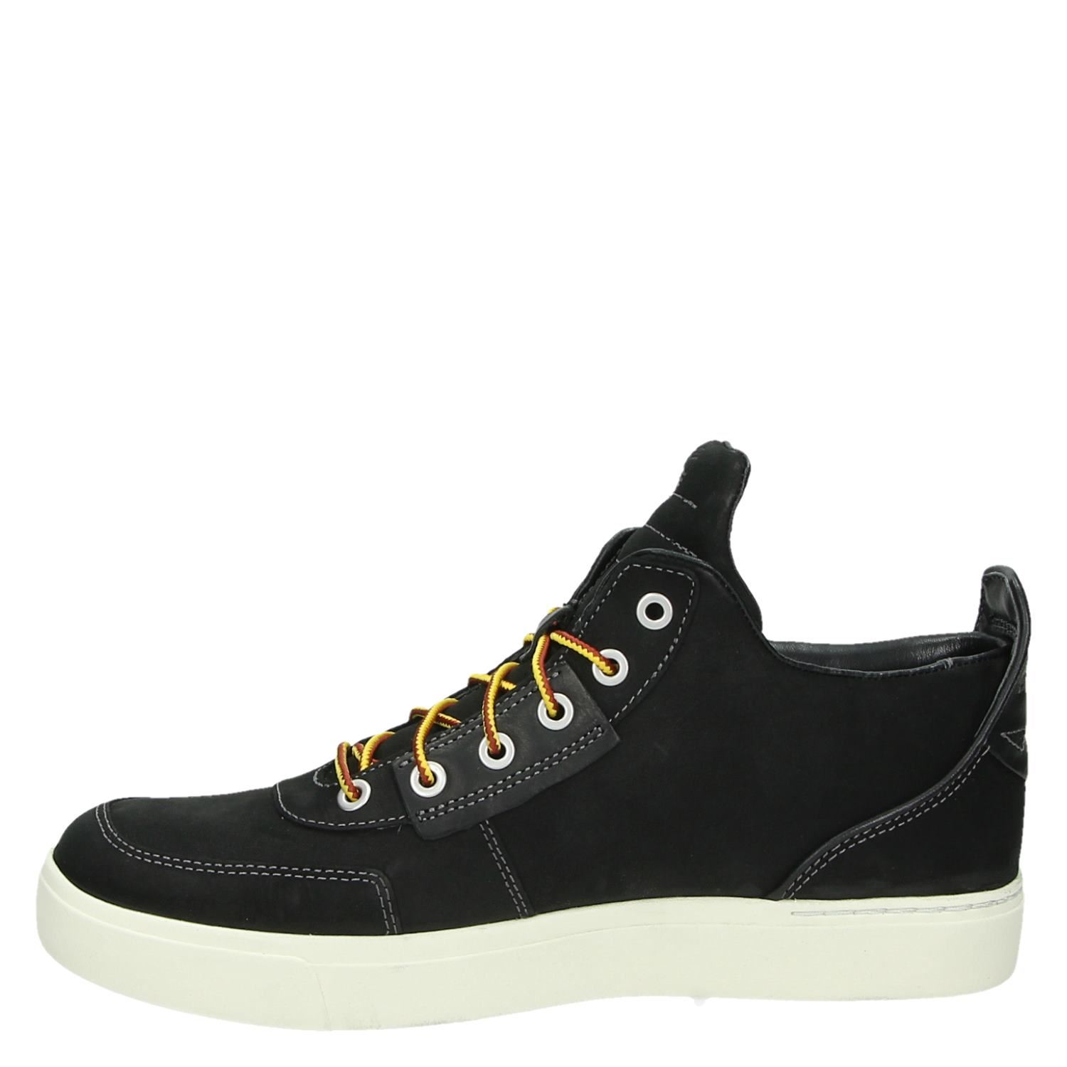 Timberland Amherst Élevée Aux Hautes Chaussures Noires gg8dt