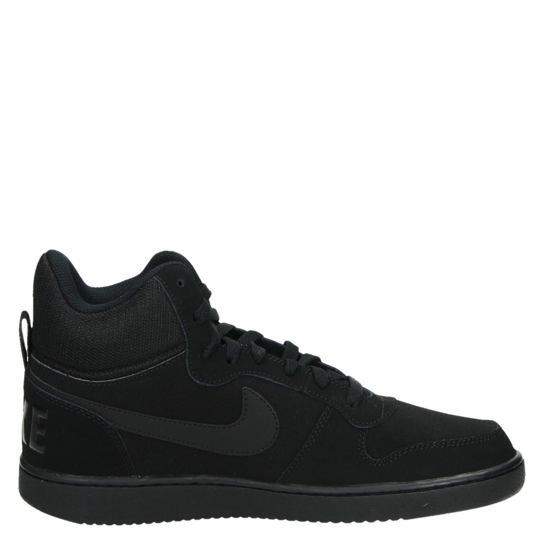 dfc1e85cde5 Nike Court Borough Mid heren hoge sneakers zwart