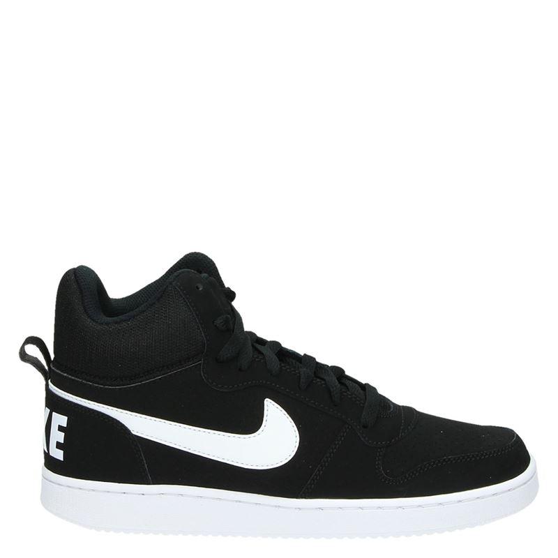 Nike Court Borough Mid hoge sneakers zwart