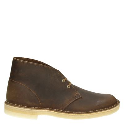Clarks Originals heren veterschoenen bruin