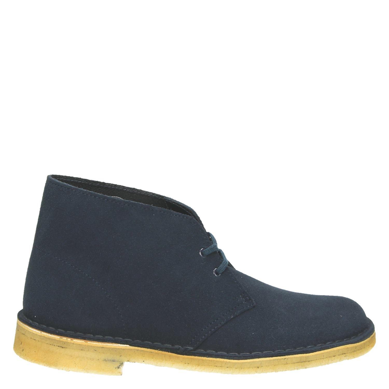 Clarks Désert Chaussures Bateau Bleu Pour Les Hommes 6MSBXsPS1J