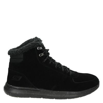 Skechers heren boots zwart