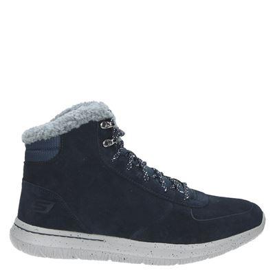 Skechers heren boots blauw