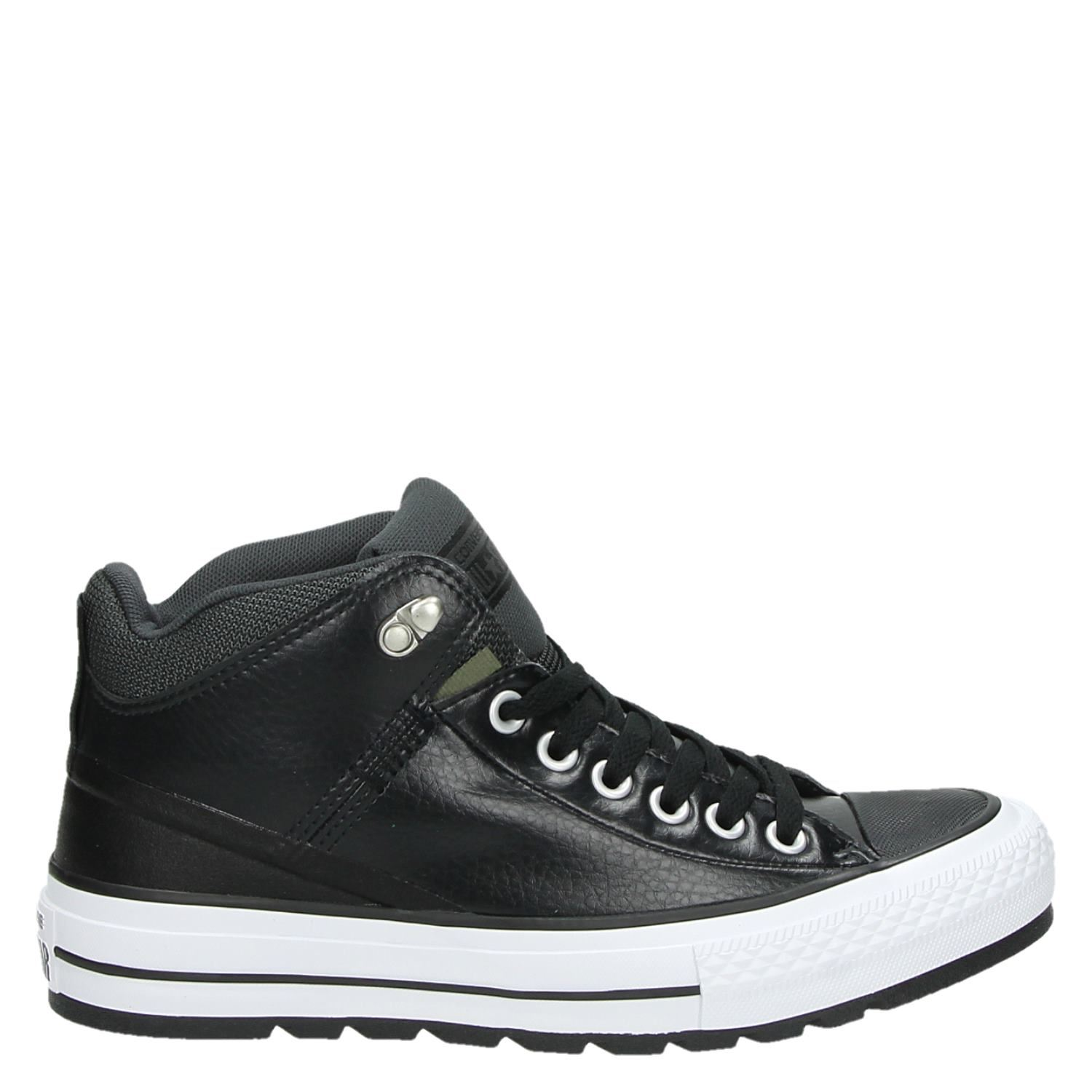 b4a025f3306 Converse All Star heren veterboots zwart