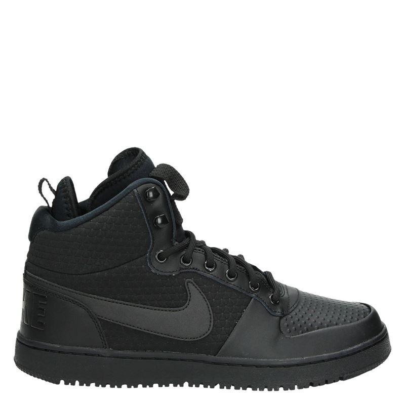 Nike Arrondissement Judiciaire Chaussures De Sport Haut Milieu Noir xdnNeb