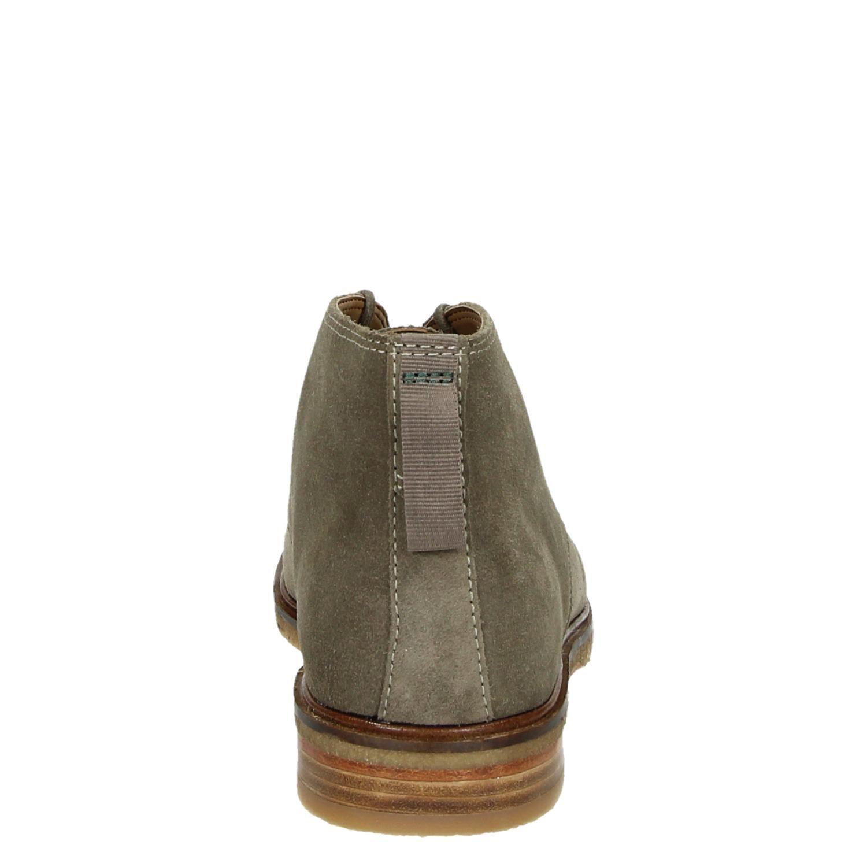 Clarks Clarksdale Bara Chaussures Haute Robe Verte lPP8B3Vz