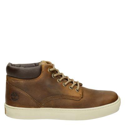 Timberland heren sneakers cognac