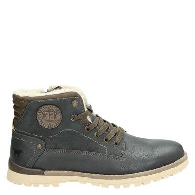 Mustang heren boots grijs