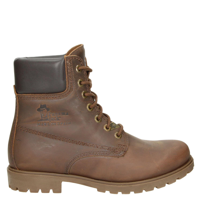 Brun Chaussures Panama Jack Avec Les Hommes Lacer LeTcjZed