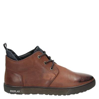Replay heren boots bruin
