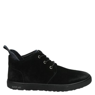 Replay heren boots zwart