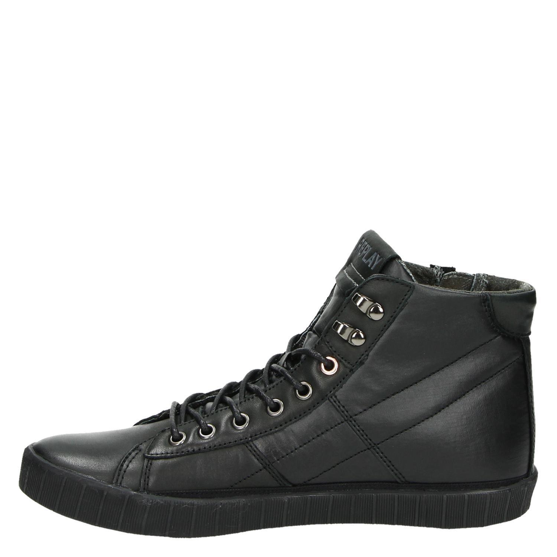 Replay heren hoge sneakers zwart