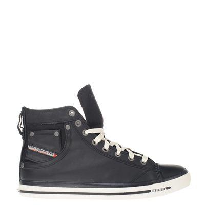 Diesel heren sneakers zwart