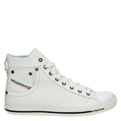 Chaussures Diesel Blanc Pour Les Hommes 2dOTdG0V9n
