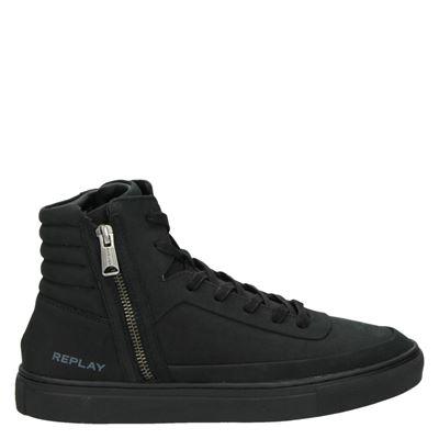 Replay heren sneakers zwart