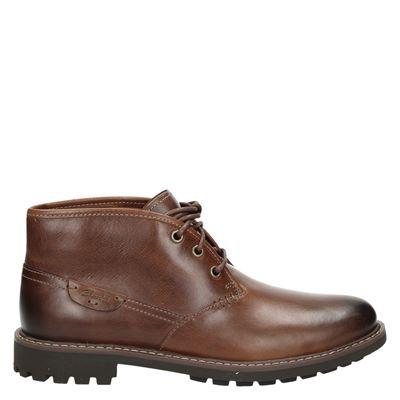 Clarks heren boots cognac