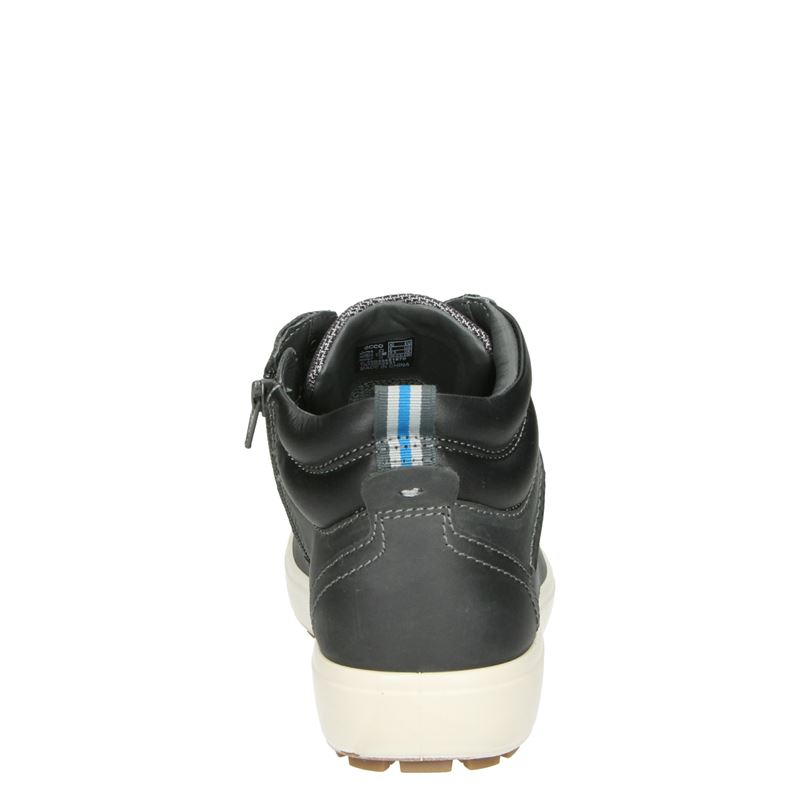 Ecco Soft 7 Tred M heren - Veterboots - Grijs