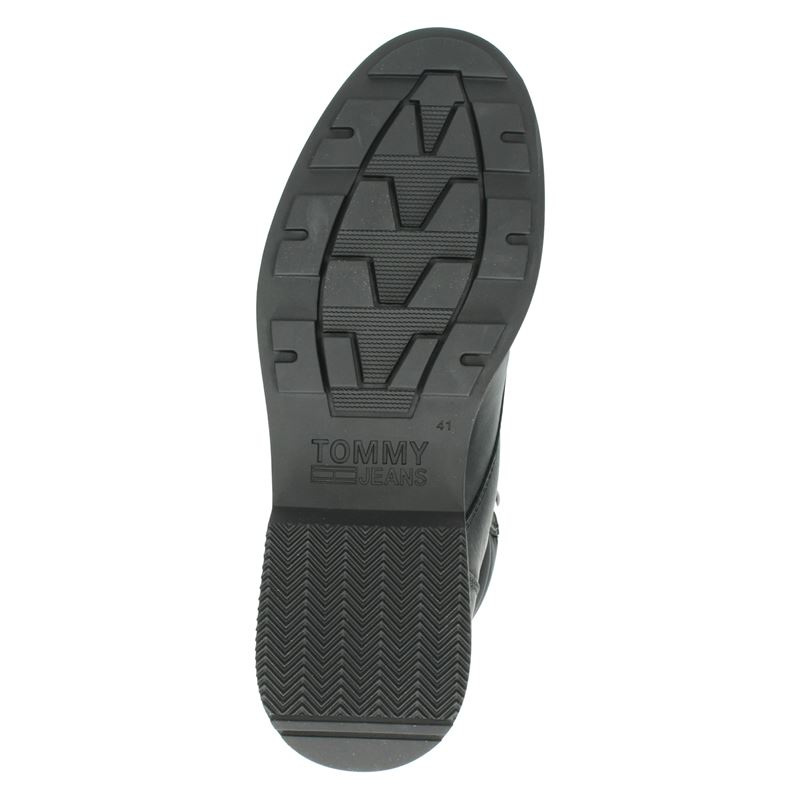 Tommy Jeans - Veterboots - Zwart