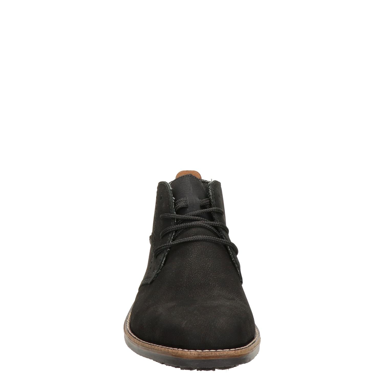rieker schoenen heren zwart