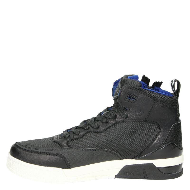Replay Mission - Hoge sneakers - Zwart