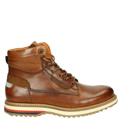 New Zealand Auckland heren boots cognac