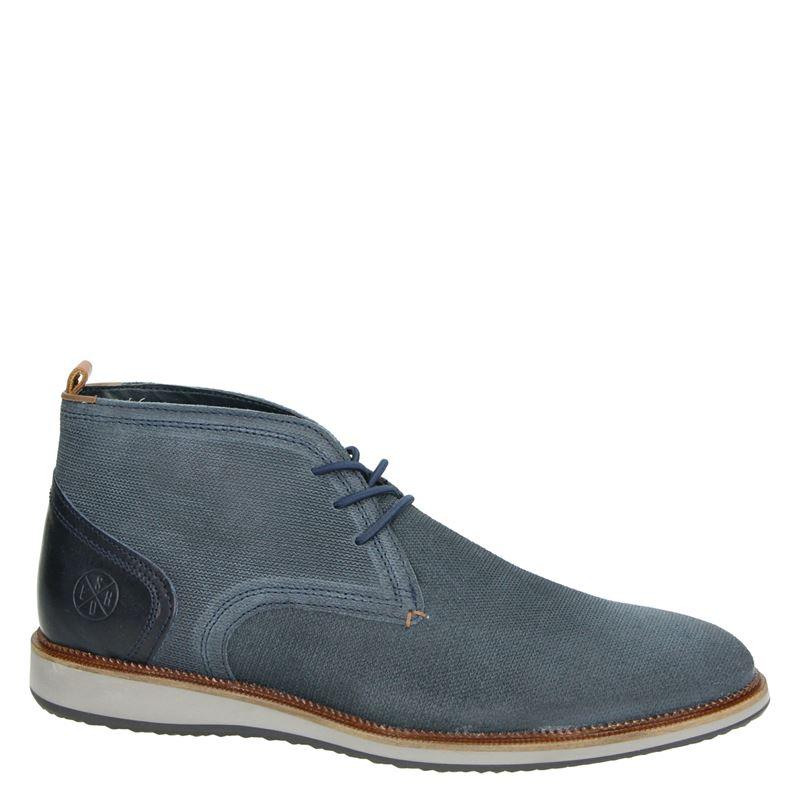 Nelson - Hoge nette schoenen - Blauw