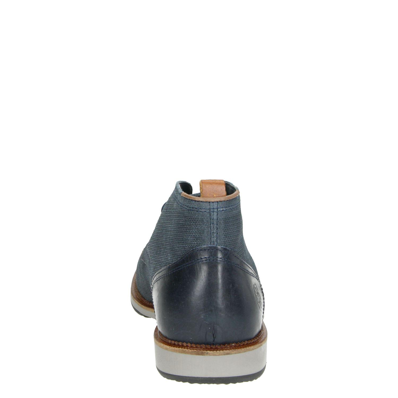 Nelson - Hoge nette schoenen voor heren - Blauw iR40cnQ