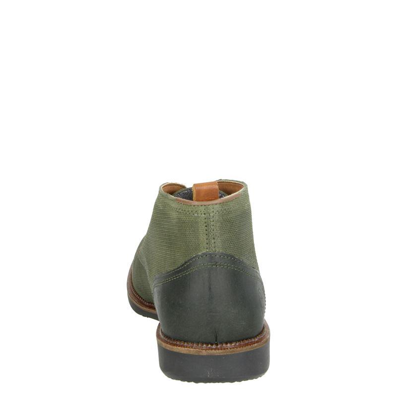 Nelson - Hoge nette schoenen - Groen