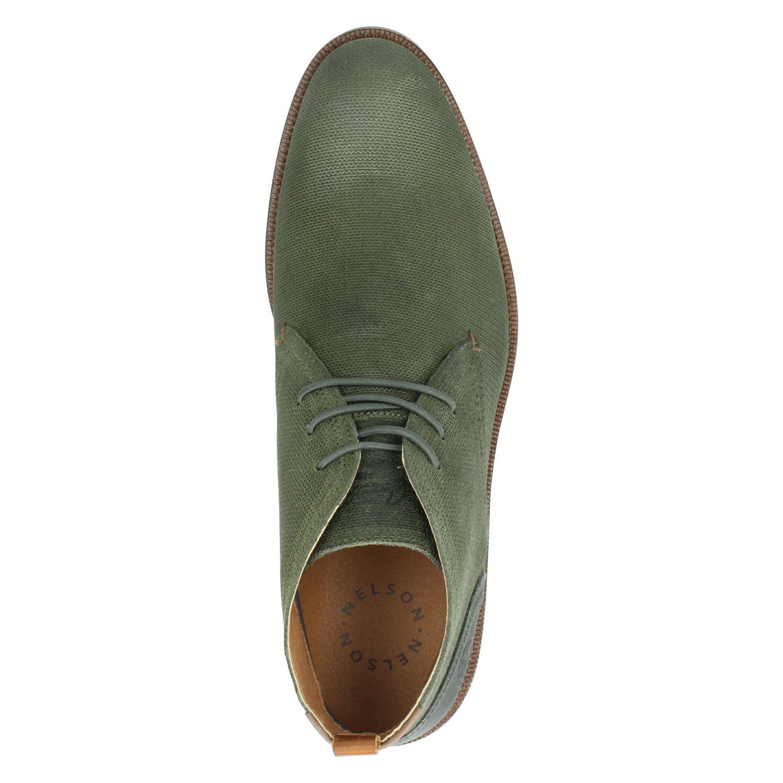 Nelson - Hoge nette schoenen voor heren - Groen FkmD4fs